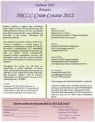 Indiana WIC Breastfeeding IBCLC Cram Course May 2012